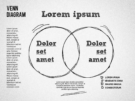 Hand Drawn Venn Diagram, Slide 2, 01332, Business Models — PoweredTemplate.com