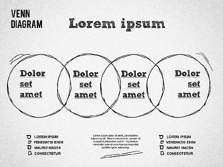 Hand Drawn Venn Diagram, Slide 4, 01332, Business Models — PoweredTemplate.com