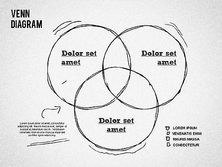 Hand Drawn Venn Diagram, Slide 5, 01332, Business Models — PoweredTemplate.com