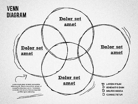 Hand Drawn Venn Diagram, Slide 6, 01332, Business Models — PoweredTemplate.com