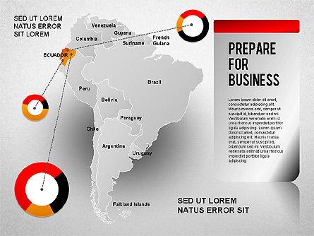 South America Presentation, Slide 10, 01333, Presentation Templates — PoweredTemplate.com