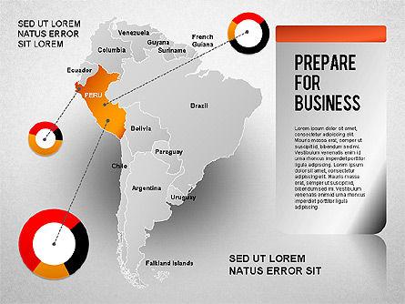 South America Presentation, Slide 11, 01333, Presentation Templates — PoweredTemplate.com