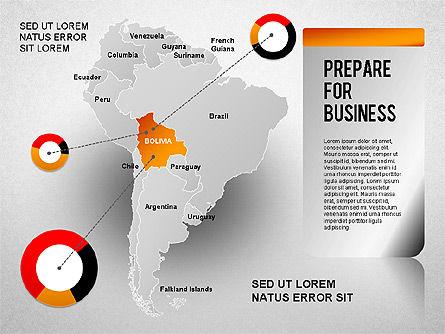 South America Presentation, Slide 12, 01333, Presentation Templates — PoweredTemplate.com