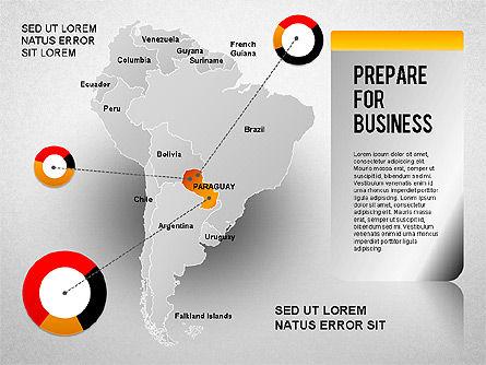 South America Presentation, Slide 13, 01333, Presentation Templates — PoweredTemplate.com