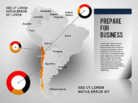 South America Presentation, Slide 14, 01333, Presentation Templates — PoweredTemplate.com