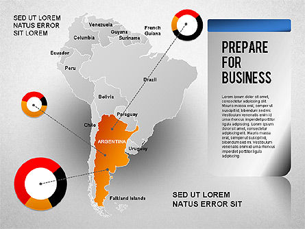 South America Presentation, Slide 15, 01333, Presentation Templates — PoweredTemplate.com