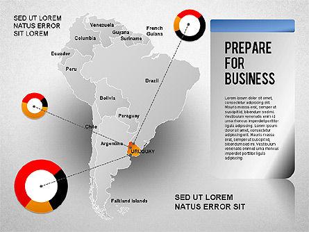 South America Presentation, Slide 16, 01333, Presentation Templates — PoweredTemplate.com