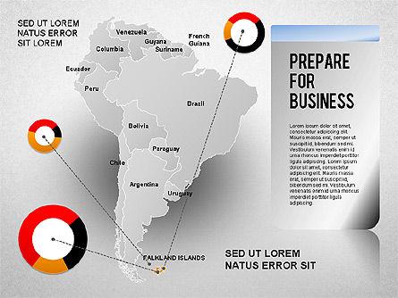 South America Presentation, Slide 17, 01333, Presentation Templates — PoweredTemplate.com