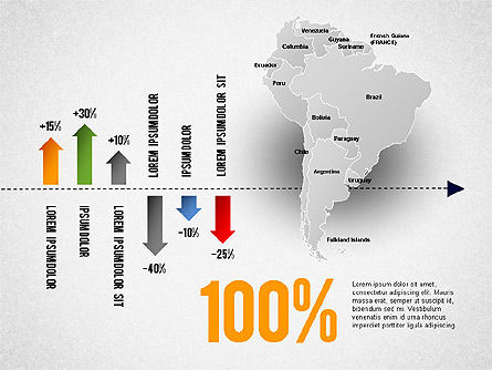South America Presentation, Slide 18, 01333, Presentation Templates — PoweredTemplate.com