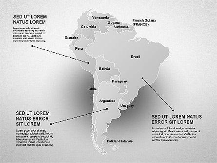 South America Presentation, Slide 19, 01333, Presentation Templates — PoweredTemplate.com