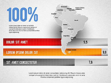 south america presentation for powerpoint presentations download