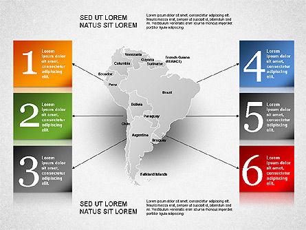 South America Presentation, Slide 22, 01333, Presentation Templates — PoweredTemplate.com