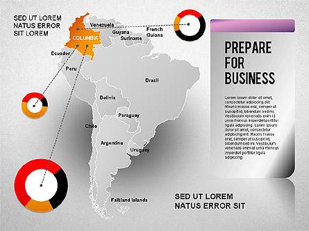 South America Presentation, Slide 5, 01333, Presentation Templates — PoweredTemplate.com