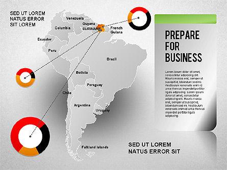 South America Presentation, Slide 8, 01333, Presentation Templates — PoweredTemplate.com