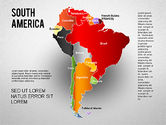 Presentation Templates: South America Presentation #01333