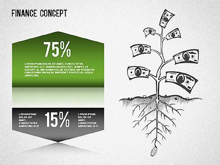 Financial Concept Diagrams Set, Slide 2, 01334, Business Models — PoweredTemplate.com