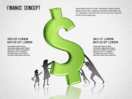 Financial Concept Diagrams Set, Slide 4, 01334, Business Models — PoweredTemplate.com