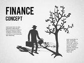 Business Models: Finanzielle Konzeptdiagramme gesetzt #01334