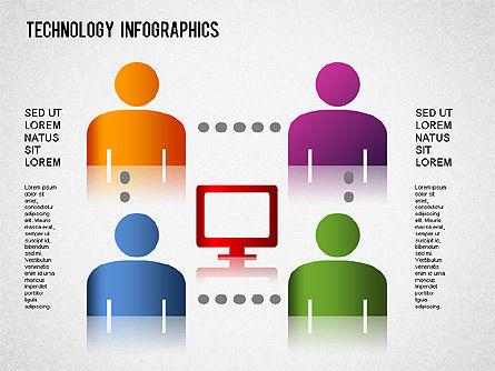 Technology Infographics, Slide 2, 01335, Business Models — PoweredTemplate.com