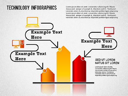 Technology Infographics, Slide 3, 01335, Business Models — PoweredTemplate.com