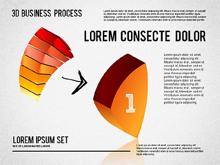 Process Diagrams: 3D Process Shapes #01336