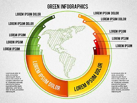 Eco Friendly Infographics, Slide 2, 01337, Business Models — PoweredTemplate.com