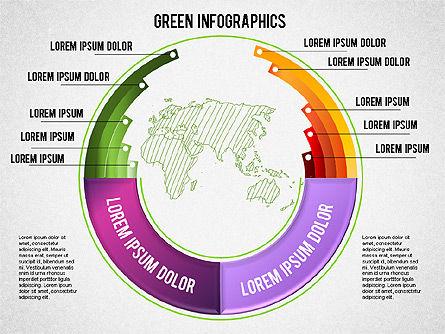 Eco Friendly Infographics, Slide 3, 01337, Business Models — PoweredTemplate.com
