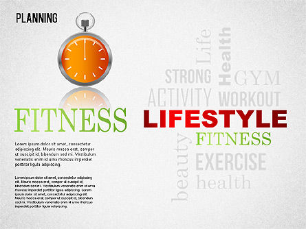 Lifestyle Planning Diagram, Slide 2, 01338, Business Models — PoweredTemplate.com