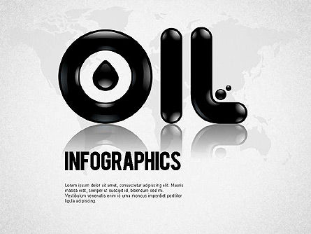 Presentation Templates: Oil Infographics #01339