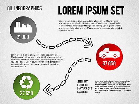 Oil Infographics, Slide 10, 01339, Presentation Templates — PoweredTemplate.com