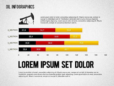 Oil Infographics, Slide 11, 01339, Presentation Templates — PoweredTemplate.com