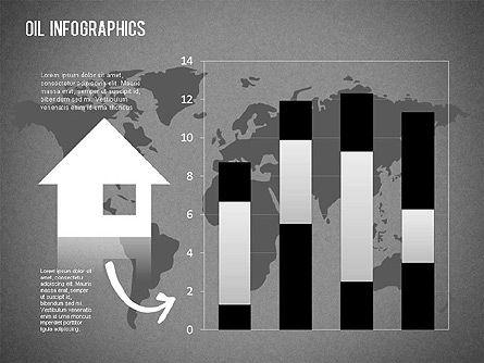 Oil Infographics, Slide 13, 01339, Presentation Templates — PoweredTemplate.com