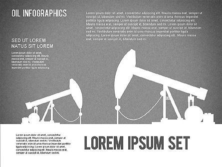 Oil Infographics, Slide 14, 01339, Presentation Templates — PoweredTemplate.com