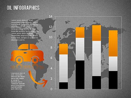 Oil Infographics, Slide 15, 01339, Presentation Templates — PoweredTemplate.com