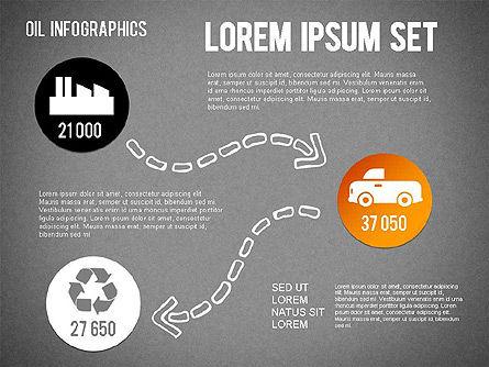 Oil Infographics, Slide 16, 01339, Presentation Templates — PoweredTemplate.com