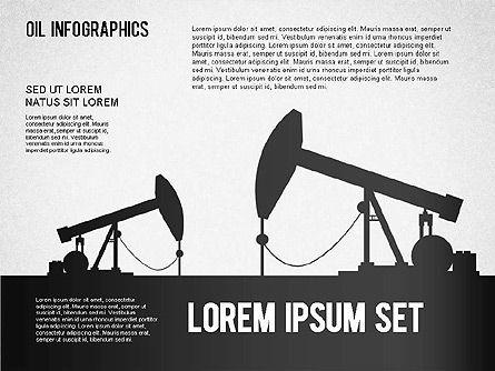 Oil Infographics, Slide 4, 01339, Presentation Templates — PoweredTemplate.com
