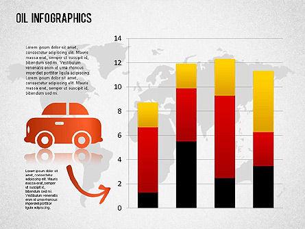 Oil Infographics, Slide 5, 01339, Presentation Templates — PoweredTemplate.com
