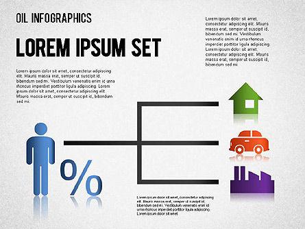 Oil Infographics, Slide 6, 01339, Presentation Templates — PoweredTemplate.com