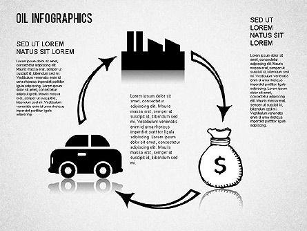 Oil Infographics, Slide 9, 01339, Presentation Templates — PoweredTemplate.com