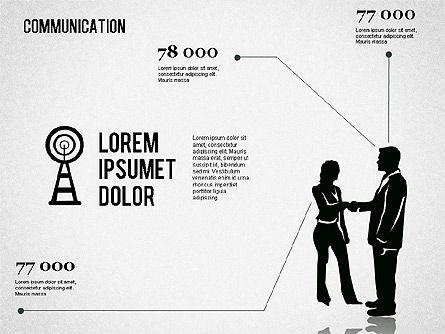 Communication Infographics, Slide 11, 01342, Business Models — PoweredTemplate.com
