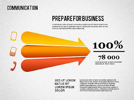 Communication Infographics, Slide 13, 01342, Business Models — PoweredTemplate.com