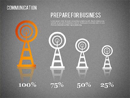Communication Infographics, Slide 15, 01342, Business Models — PoweredTemplate.com