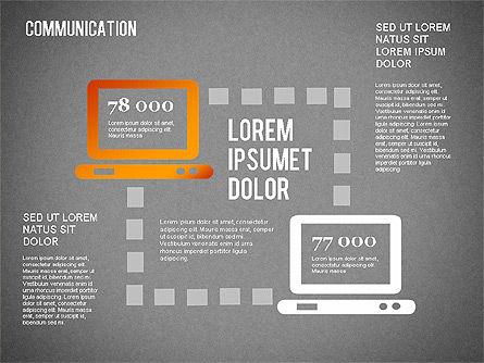Communication Infographics, Slide 16, 01342, Business Models — PoweredTemplate.com