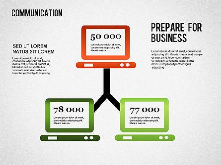 Communication Infographics, Slide 6, 01342, Business Models — PoweredTemplate.com