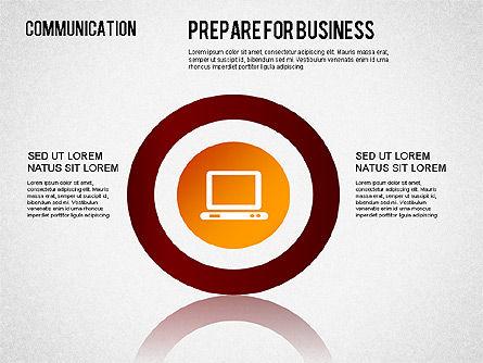 Communication Infographics, Slide 7, 01342, Business Models — PoweredTemplate.com