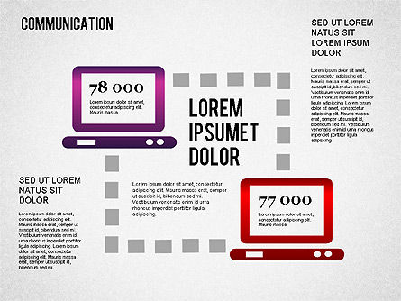 Communication Infographics, Slide 8, 01342, Business Models — PoweredTemplate.com