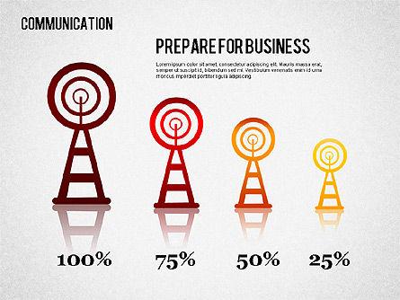 Communication Infographics, Slide 9, 01342, Business Models — PoweredTemplate.com