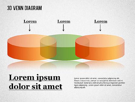 Transparent Colored Venn Diagram, Slide 2, 01345, Business Models — PoweredTemplate.com