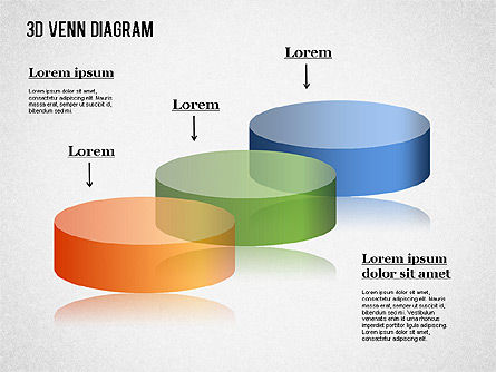 Transparent Colored Venn Diagram, Slide 4, 01345, Business Models — PoweredTemplate.com