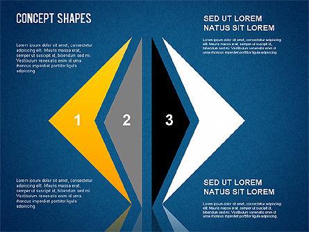 Concept Shapes Set, Slide 10, 01347, Shapes — PoweredTemplate.com